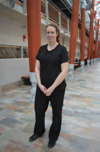 Pharmacy Technician student Robyn Peterson