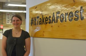 Allison Hands, Education Manager at Forests Ontario