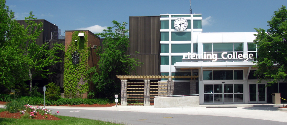Fleming College entrance sutherland campus