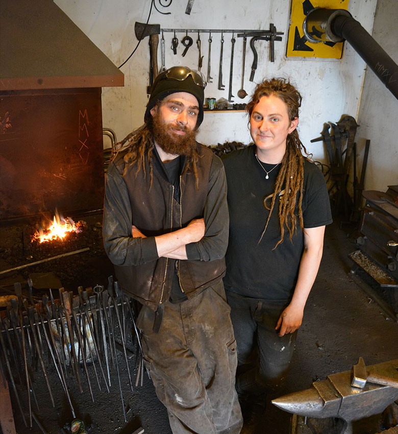 Megan Carter and Mike Armstrong, Artist Blacksmith, 2012