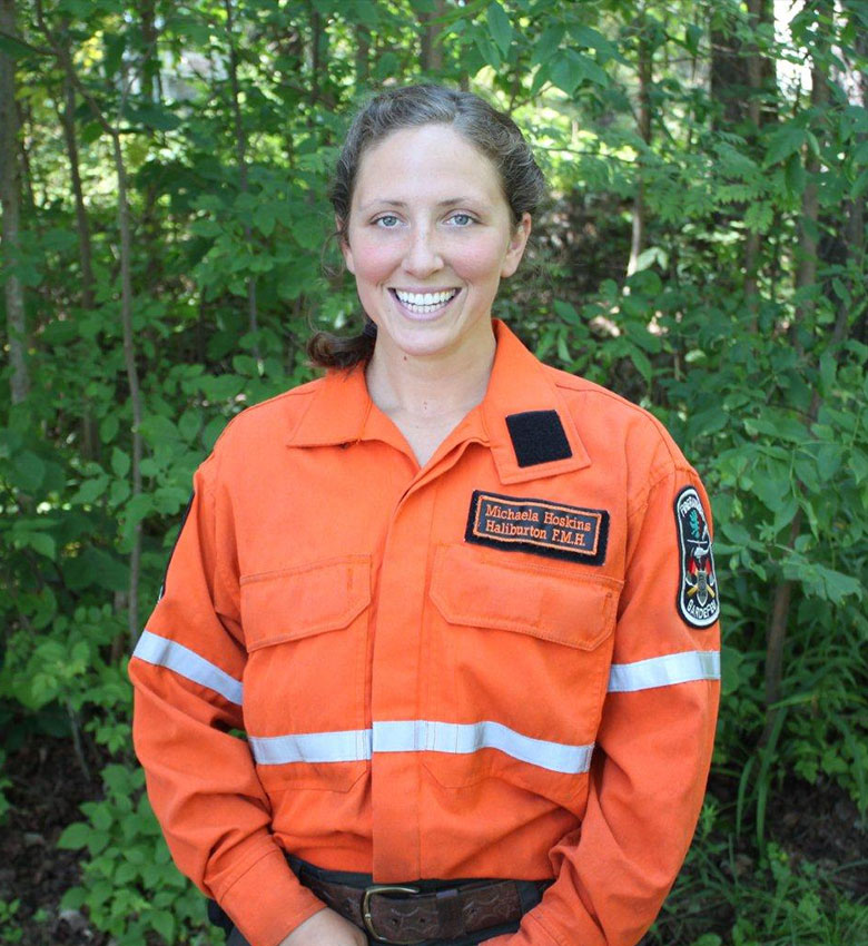 Michaela Hoskins, Pre-Service Firefighter Education and Training,  2015