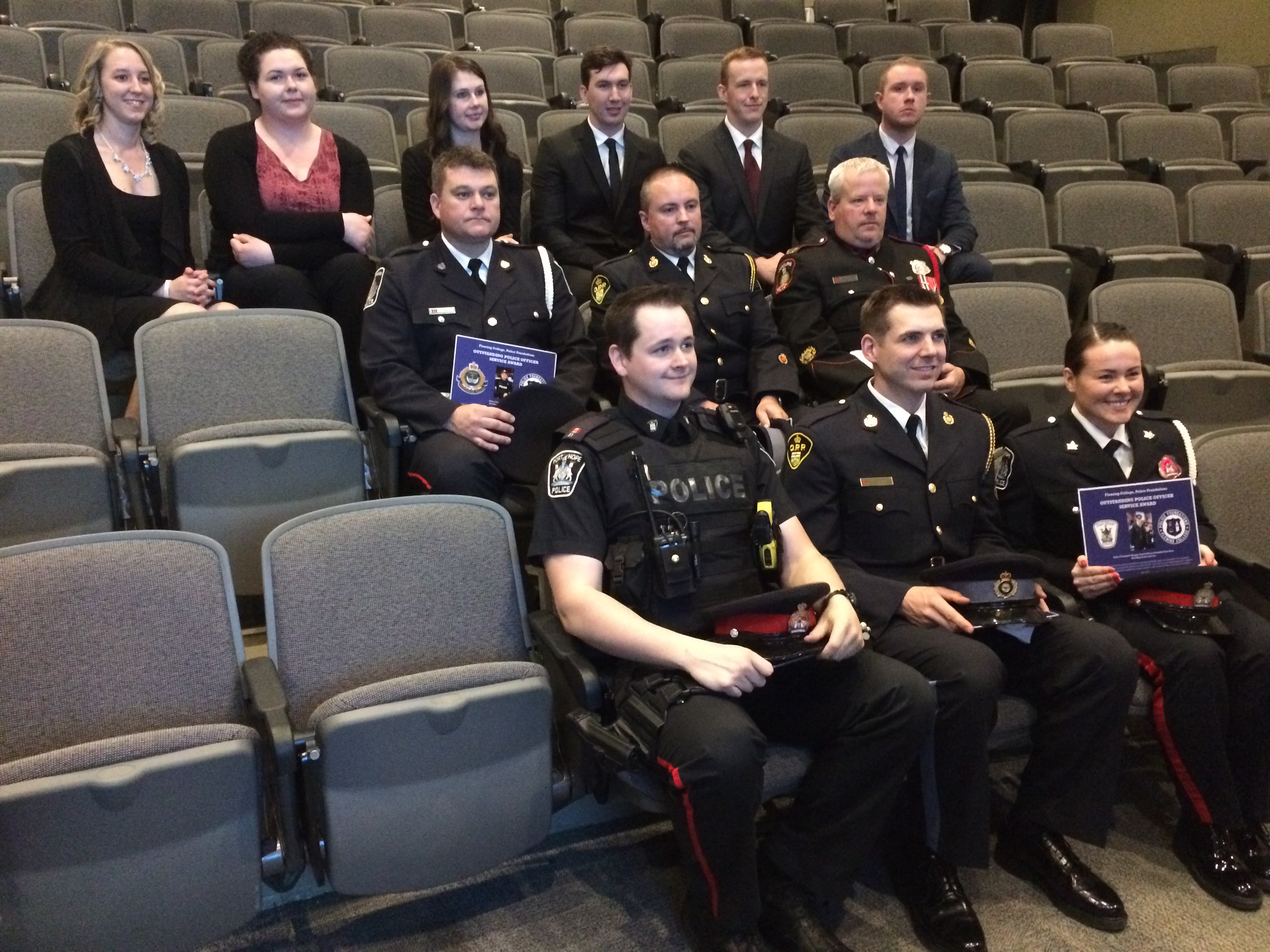 Third Annual Fleming College Outstanding Police Officer ...